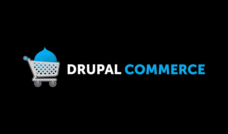 Drupal commerce brand logo representing eCommerce websites
