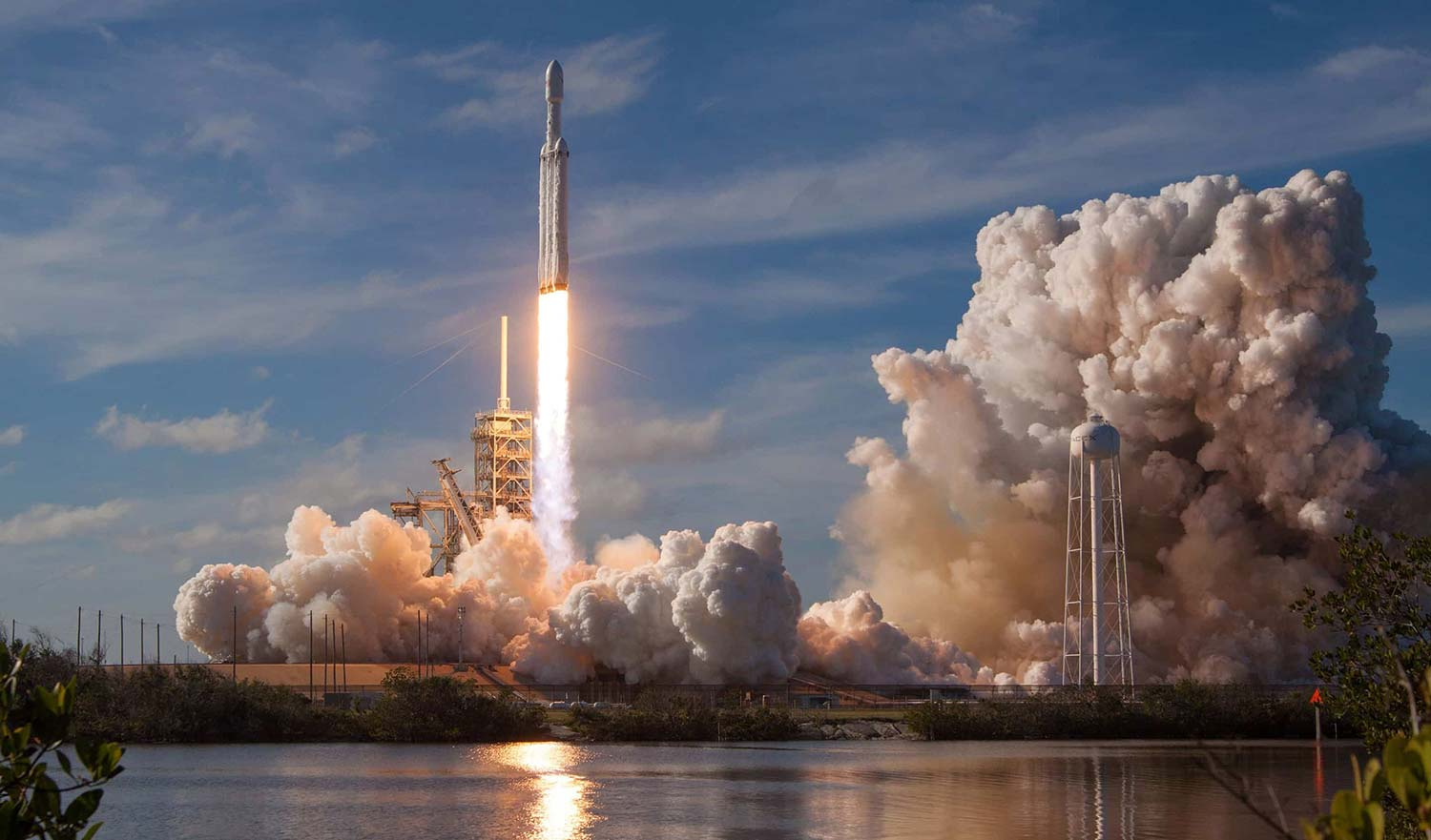 SpaceX Rocket launch signifying product launch