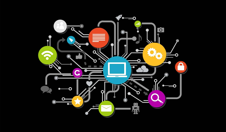 Enterprise application integration diagram