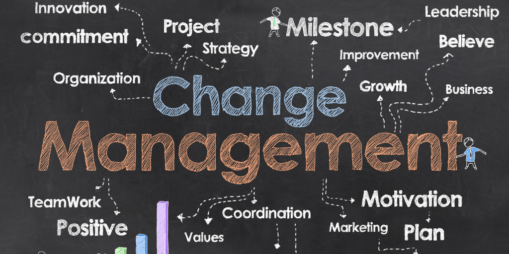 Change Management - image via Canva